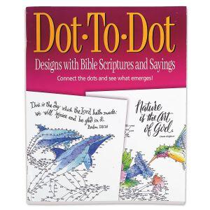 Biblical Dot-To-Dot Designs Book