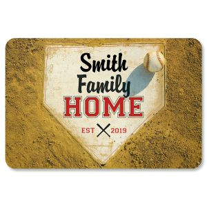 Personalized Home Plate Doormat