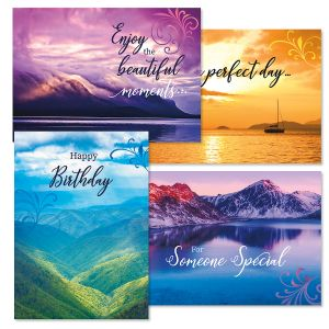 God's Glory Birthday Cards and Seals