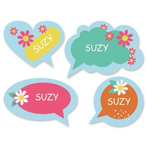 Personalized Conversation Bubbles Stickers