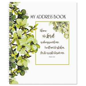 Faith Large Print Address Book