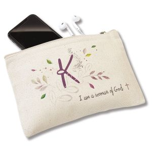 I am a Woman of God Personalized Pouch