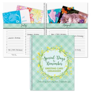 Faith Greeting Card Organizer
