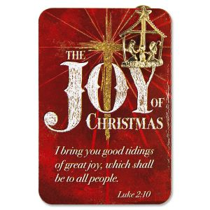 Joy of Christmas Nativity Pin