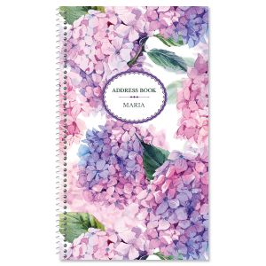 Hydrangea Cluster Address Book
