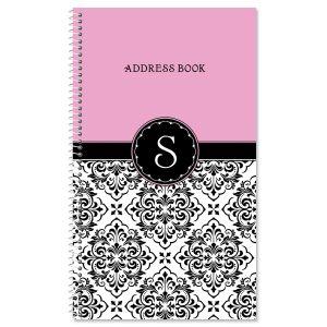Vintage Damask Address Book