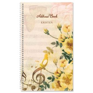 Music Note Address Book