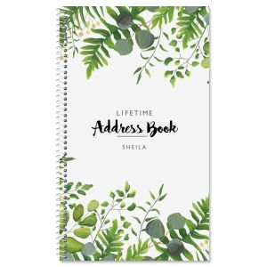Hanging Leaves Address Book