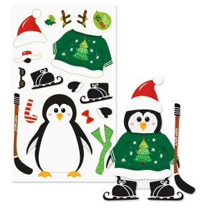 Decorate-Your-Own Penguin Sticker Sheets - BOGO