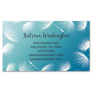 Dandelion Confetti Standard Business Card