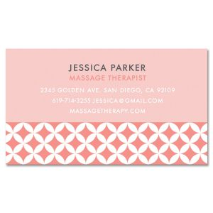 Diamond Pattern Standard Business Card