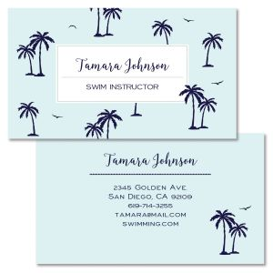 Little Palms Double-Sided Business Card