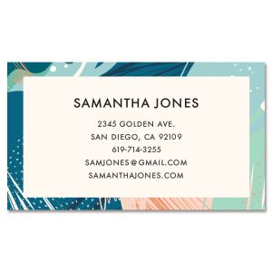 Exotic Pastel Standard Business Cards