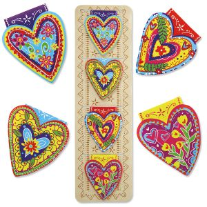 Hearts Magnetic Bookmarks - BOGO
