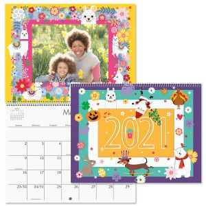 2021 Celebrations Scrapbooking Calendar