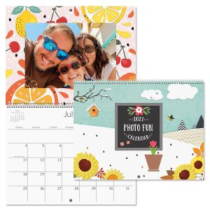 2021 Photo Fun Scrapbooking Calendar