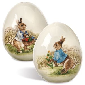 Easter Bunny Salt & Pepper Set