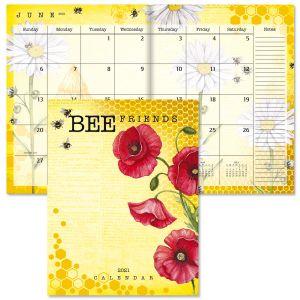 2021 Bee Friends Desk Calendar