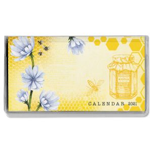 2021 Bee Friends Pocket Calendar