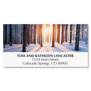Woodland Miracle Deluxe Address Labels