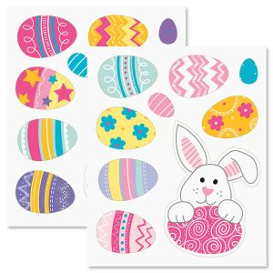 Easter Vinyl Clings - BOGO