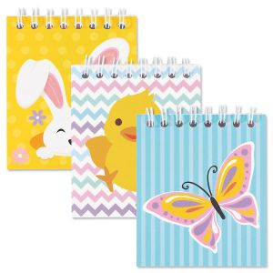 Mini  Easter Spiral-Bound Notebooks - BOGO