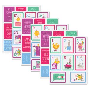 Easter Treasure Hunt Cards
