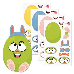 Build-Your-Own-Easter Egg Sticker Sheets