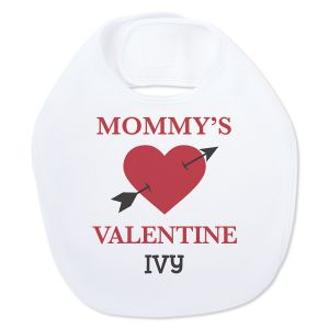 Baby's Valentines Day Personalized Bib