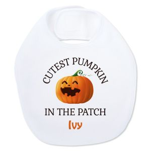 Baby's Halloween Personalized Bib