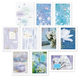 Lavender Sympathy Cards Value Pack
