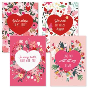 Big Hearts Valentine Cards