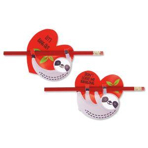 Sloth Valentines