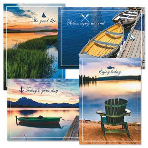 Dockside Birthday Cards and Seals