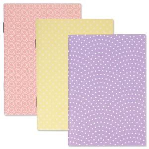 Mini Notebooks with Patterns