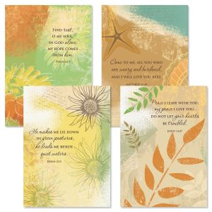 Season of Loss Sympathy Cards and Seals