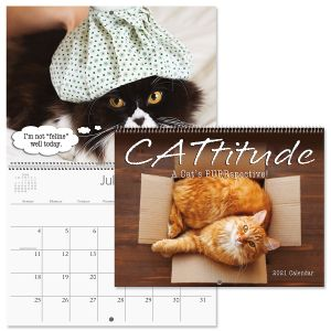 2021 CATtitude Wall Calendar