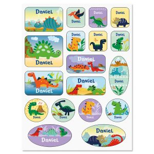 Dinosaur Personalized Stickers