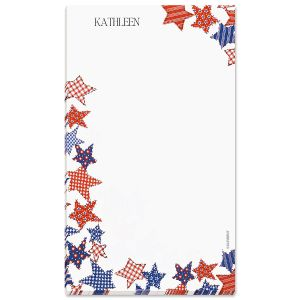 Patriotic Personalized Note Pad