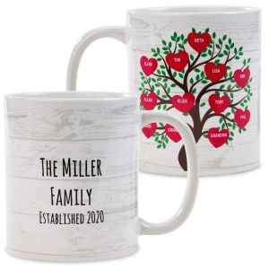 Family Tree Personalized Mug