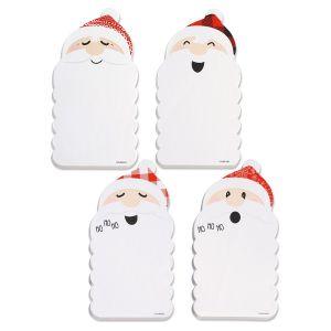 Diecut Santa Notepads