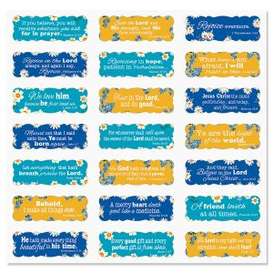 Tiny Blossom Scripture Stickers - BOGO