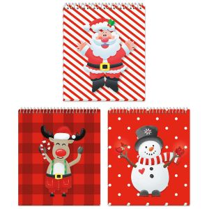 Happy Santa Mini Notebooks - BOGO