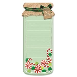 Holiday Jar List Pads - BOGO