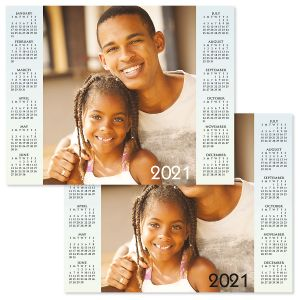 Year at a Glance Personalized Photo Calendar