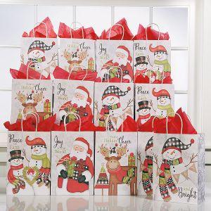 Snowy Wonderland Christmas Gift Bags
