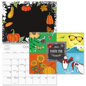 2022 Photo Fun Scrapbooking Calendar
