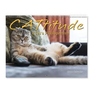 2022 CATtitude Wall Calendar