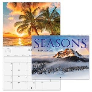 2022 Seasons Wall Calendar