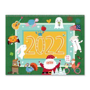 2022 Celebrations Scrapbook Calendar